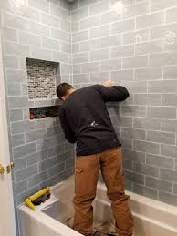 re-tiling bathroom remodeling